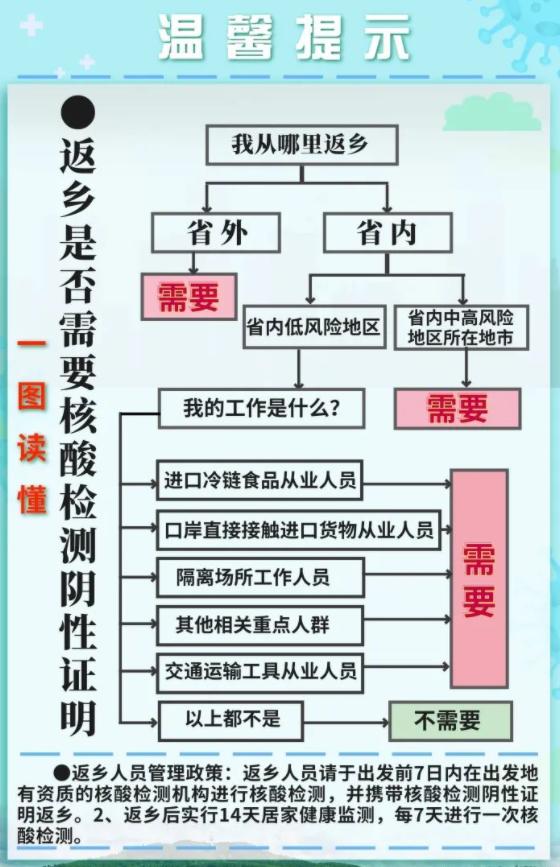春节返乡最新政策