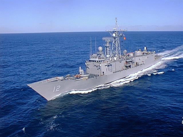 派里级巡防舰图片