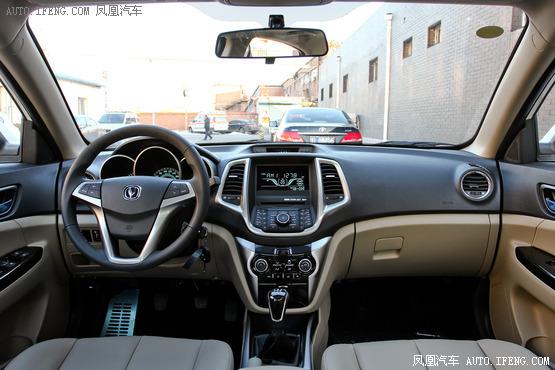 长安逸动1.5T实车首曝 预计3月上市发售