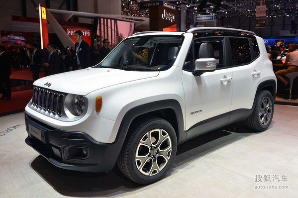 Jeep Renegade自由侠 实拍 外观 图片