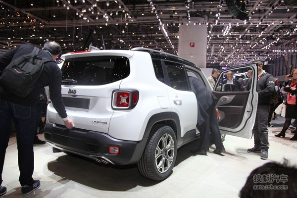 Jeep Renegade 实拍 其它 图片