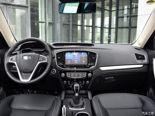 吉利汽车 远景SUV 2016款 1.8L 手动尊贵型
