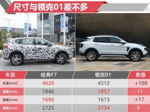 和领克01一样大!哈弗这款新SUV卖13万贵不贵