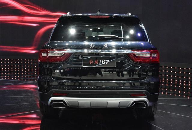 红旗HS7预下半年上市,尺寸比揽胜霸道,3.0T动力比奥迪Q7强劲