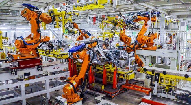 长城汽车自动化生产线